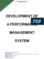 Development of a Performance Management System [www.writekraft.com]