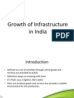 Infrastructure in India.ppt
