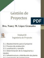 Unidad III. Ingeniería de Proyecto.pptx