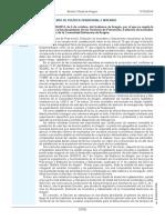 Decreto 158/2014, de 6 de Octubre