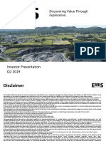 Erris Corporate Presentation, Q2 2019