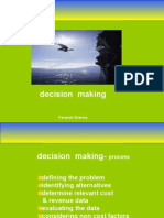 Decision Making in Costing