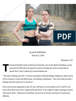 sports-bra outrage and a fight over everyday sexism - the chronicle of higher education