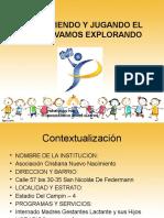 presentación proyecto practicas pedagógicas  nivel primera infancia