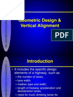7-Geometric Design and Vertical Curves