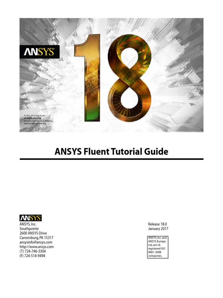 ansys fluent 18 tutorial guide pdf | Trademark