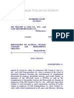 M. D. Transit vs. de Guzman, G.R. No. L-18810, April 23, 1963, 7 SCRA 726