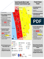 Tsunami Evacuation Procedure for Legian