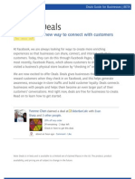 Create a Facebook Deal