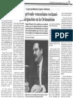 Edgard Romero Nava - Gira Presidencial Japon Indonesia Sector Privado Venezolano Reclamo Participacion en La Orimulsion - El Diario de Caracas 06.04.1988