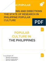 Popculture Report 1