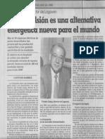 La Orimulsion Es Una Alternativa Energetica Nueva Para El Mundo - El Nacional 06.04.1988