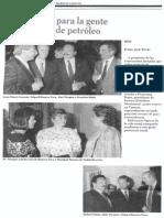 Sociales - Un Brindis Para La Gente Que Sabe de Petroleo - El Diario de Caracas 18.06.1988