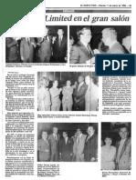 Sociales - Wagoneer Limited en El Gran Salon - Diario El Nuevo Pais 11.03.1988