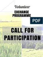 Call for Participation - Volunteer Exchange Programme