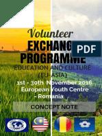 Concept Note - Volunteer Exchange Programme (Romania)