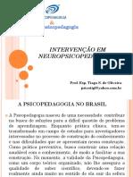 Slide - INTERVENÇÃO EM NEUROPSICOPEDAGOGIA.pptx