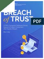 Equifax Breach of Trust Update 2019