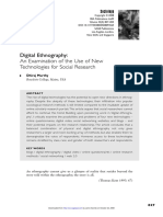 An Examination of the Use of New Technologies for Social Research