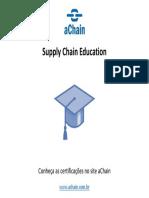 Cursos e certificações área supply chain management!