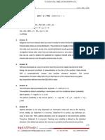 2016年5月FRM二级模拟考试一(答案)