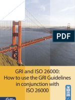How to ue the GRI Guidelines in conjuntion with ISO 26000