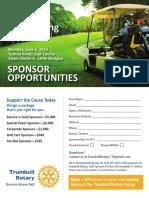 Trumbull Rotary 2019 Sponsor Opportunities