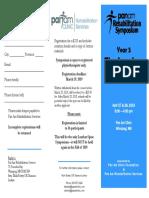 Pan Am Rehab Symposium 2019 Lumbar Spine