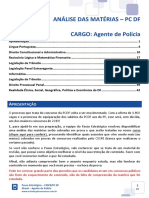 eBook CESPE PC DF Agente de Polícia