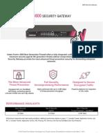5600 Security Gateway Datasheet