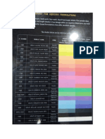 Colors Shade Cards