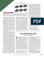 Atkins, The22nd Amino Acid