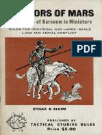 Warriors of Mars - The Warfare of Barsoom in Miniature.pdf