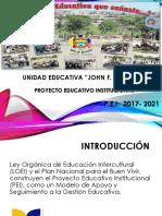 Socializacion de Componentes Del PEI 2017-2021 1