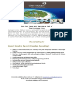 Job Advert 07.05.2019-Guest Service Agent