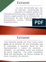Extranet Internet Intranet