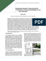 Shady Attia - The Role of Landscape Design (...)(2006, Paper)