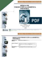 Modulo de Introducción a la robótica industrial