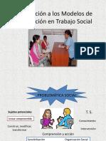 Introducción a Los Modelos de Intervención en Trabajo