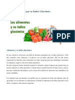 Dieta Bajo Indice Glucemico