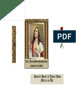 Cor Jesu Sacratissimum Miserere Nobis