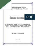 Manejo de desechos solidos hospitalarios en la Clinica de Jicaral de Puntarenas .docx