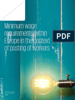 KPMG Minimum Wage Survey 2019