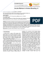 Molecular Markers and Their Applicationsin Cattle