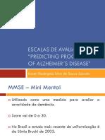 Escalas de Avaliação - Predictin Alzheimers Disease