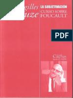 DELEUZE, Gilles (2015) La subjetivación Curso sobre Foucault Tomo III (1).pdf