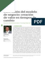 Innovación Del Modelo de Negocio