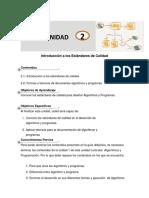Guia Didactica Unidad 2estandares de Calidad