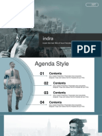 Double Exposure Business PowerPoint Templates