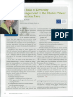 The Role of Diversity Management in the Global Talent Retention Race